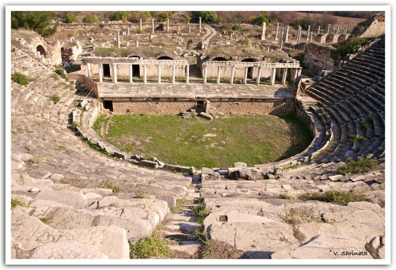 Auditorium at the city of Aphrodiasias