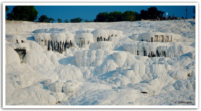 Hierapolis and the cotton castle at Pamukkale