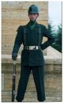 Guard at the Ataturk Mausoleum