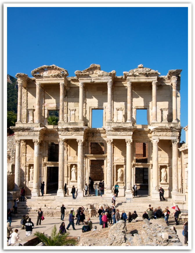 The Temple of Artemis & the city of Ephesus