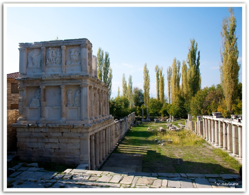 Remains of the temple of Aphrodisias