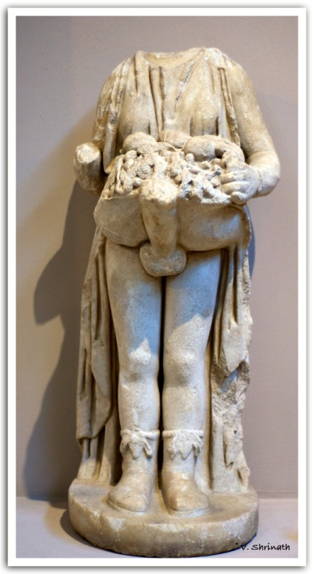 Statue of Priapus - the God of fertility