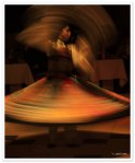 Whirling like a dervish